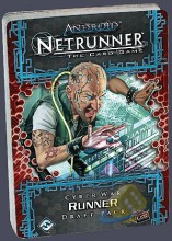 Android Netrunner LCG: Cyber War Runner Draft Pack