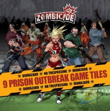 Zombicide: Prison Outbreak Extra Tiles