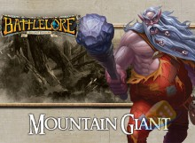 Battlelore (Second Edition) - Mountain Giant