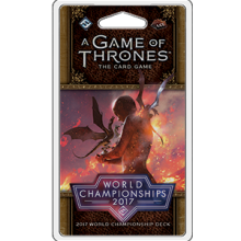 A Game of Thrones LCG (2nd) - 2017 World Championships Deck