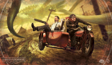 Arkham Horror: The Card Game - Narrow Escape Playmat (herní podložka)