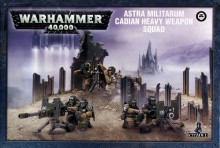 Astra Militarum: Cadian Heavy Weapon Squad