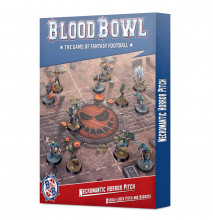 Blood Bowl Necromantic Horror Pitch – Double-sided Pitch and Dugouts (hřiště)