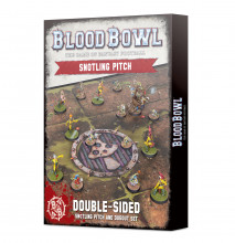 Blood Bowl Snotling pitch & dugouts (hřiště)