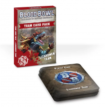 Blood Bowl Team Card Pack: Lizardmen Team