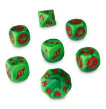 Blood Bowl The Gouged Eye Dice (kostky)