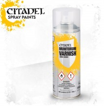 Citadel Spray: Munitorum Varnish (lak na figurky ve spreji)