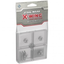 Clear Bases and Pegs Accessory: X-Wing