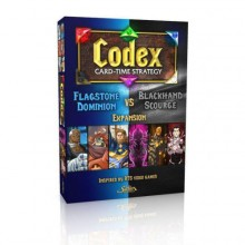 Codex: Card-Time Strategy – Flagstone Dominion vs. Blackhand Scourge Expansion