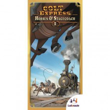 Colt Express: Horses & Stagecoach