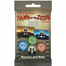 Dawn of the Zeds (Third edition): Expansion Pack #3 – Rumors and Rails