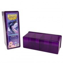Dragon Shield 4-Compartment Card Storage Box - Purple - pořadač na karty