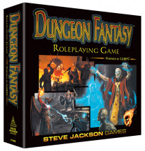 Dungeon Fantasy Roleplaying Game, Powered by GURPS