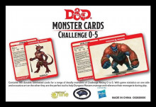 Dungeons & Dragons RPG: Monster Card Deck Levels 0-5 (195)