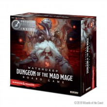 Dungeons & Dragons: Waterdeep: Dungeon of the Mad Mage (Premium edition - s nabarvenými figurkami)