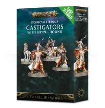 Easy To Build: Stormcast Eternals Castigators with Gryph-Hound