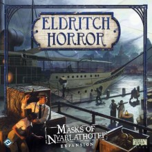 Eldritch Horror: Masks of Nyarlathotep