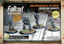 Fallout: Wasteland Warfare Brotherhood of Steel Frontline Knights