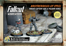 Fallout: Wasteland Warfare Brotherhood of Steel Knight - Captain Cade and Paladin Danse