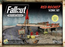 Fallout: Wasteland Warfare Red Rocket scenic set