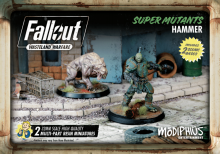 Fallout: Wasteland Warfare Super Mutants Hammer