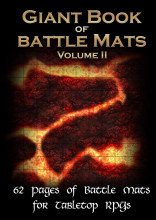 Giant Book of  Battle Mats Volume II
