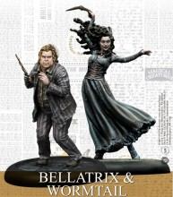 Harry Potter Miniatures Adventure Game - Bellatrix and Wormtail