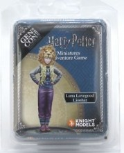 Harry Potter Miniatures Adventure Game - Luna Lovegood Lionhat