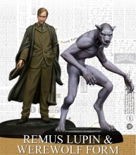Harry Potter Miniatures Adventure Game - Remus Lupin and Werevolf Form