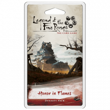 Legend of the Five Rings: The Card Game – Honor in Flames