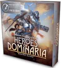 Magic: The Gathering – Heroes of Dominaria Board Game Premium Edition