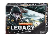 Pandemic Legacy: Season 2 (Black) - anglicky