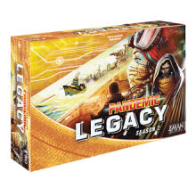 Pandemic Legacy: Season 2 (Yellow) - anglicky