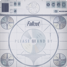 Please Stand By - Fallout Gamemat (herní podložka)