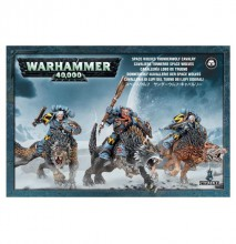 Space Wolves: Thunderwolf Cavalery