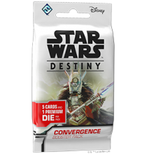 Star Wars: Destiny - Convergence booster - anglicky