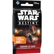 Star Wars: Destiny - Empire at War Booster - anglicky