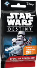 Star Wars: Destiny - Spirit of Rebellion Booster - anglicky