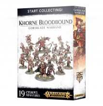 Start Collecting! Khorne Bloodbound Goreblade Warband (Warhammer: Age of Sigmar)
