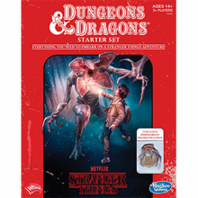 Stranger Things Dungeons & Dragons RPG Starter Set