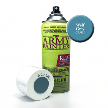 Sprej The Army Painter - Colour Primer - Wolf Grey