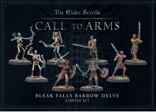 The Elder Scrolls: Call to Arms - The Bleak Falls Barrow Delve Starter Set