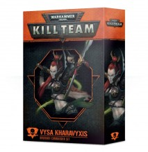 Warhammer 40,000: Kill Team: Vysa Kharavyxis Drukhari Commander Set