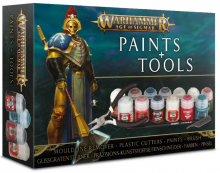 Warhammer Age of Sigmar Paints & Tools Set - sada barev a nástrojů
