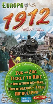 Ticket to Ride: Europa 1912