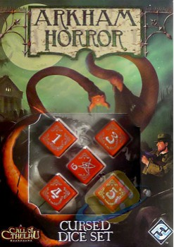 Arkham Horror Cursed Dice