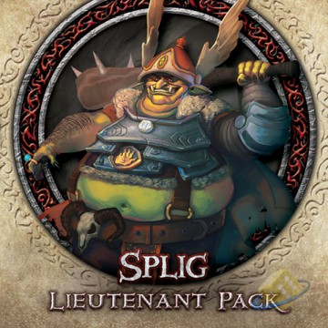 Descent: Journeys in the Dark (2nd. Ed.) - Splig Lieutenant Pack