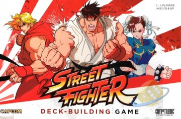 Capcom Street Fighter Deck Building Game