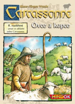 Carcassonne: Ovce a kopce
