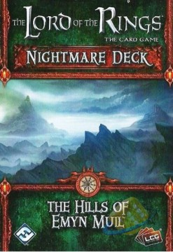 The Lord of the Rings LCG: The Hills of Emyn Muil - Nightmare Deck